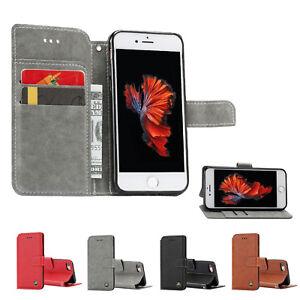 Bookcase-Schutzhuelle-fuer-iPhone-Handytasche-Etuis-Handycase-Wallet-Handy-Huelle