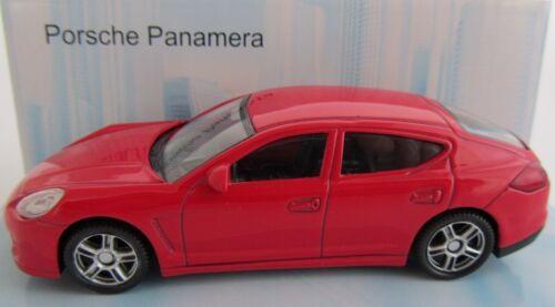 Porsche Panamera//rojo//fundición-modelo 1:43//Mondo Motors//nuevo embalaje original
