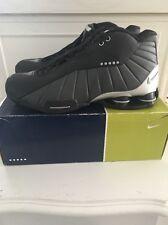 Nike Shox BB4 Black Metallic Silver Men's 7.5 830218-003 2000 OG