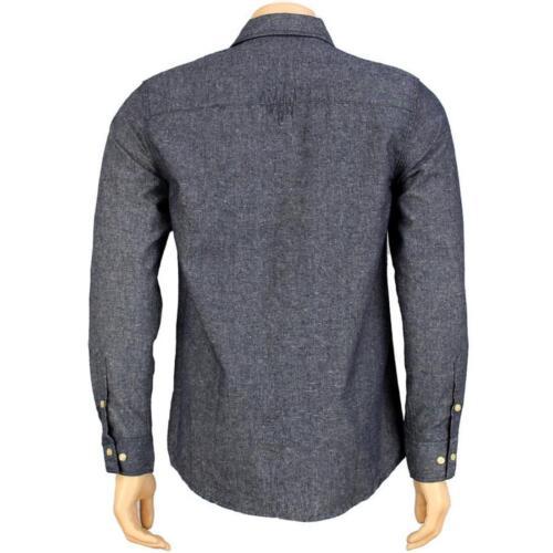 T11F108099BLU blue The Hundreds Compass Long Sleeve Shirt