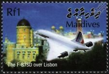 Air France CONCORDE F-BTSD (Lisbon) Supersonic Airliner Aircraft Stamp