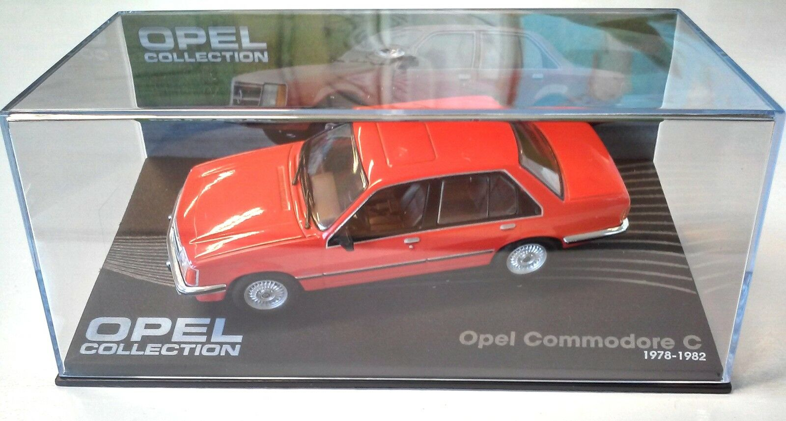 OPEL COMMODORE C 1978-1982 - VOITURE MINIATURE COLLECTION - IXO 1 43 CAR AUTO 49