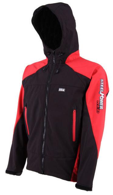 Dam steelpower rosso Softshell Jacket-taglia selezionabile-Softshell Giacca