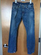 True Religion Jeans Ricky Light Wash Men's Size 34 Waist Made USA