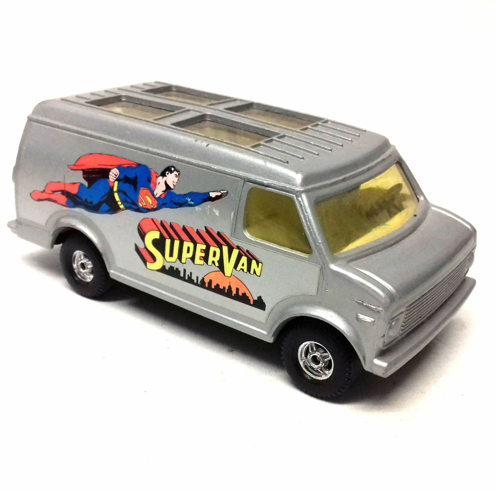 Vintage 70s 80s DC Comics Corgi Die Cast SUPERMAN VAN - FANTASTIC CONDITION