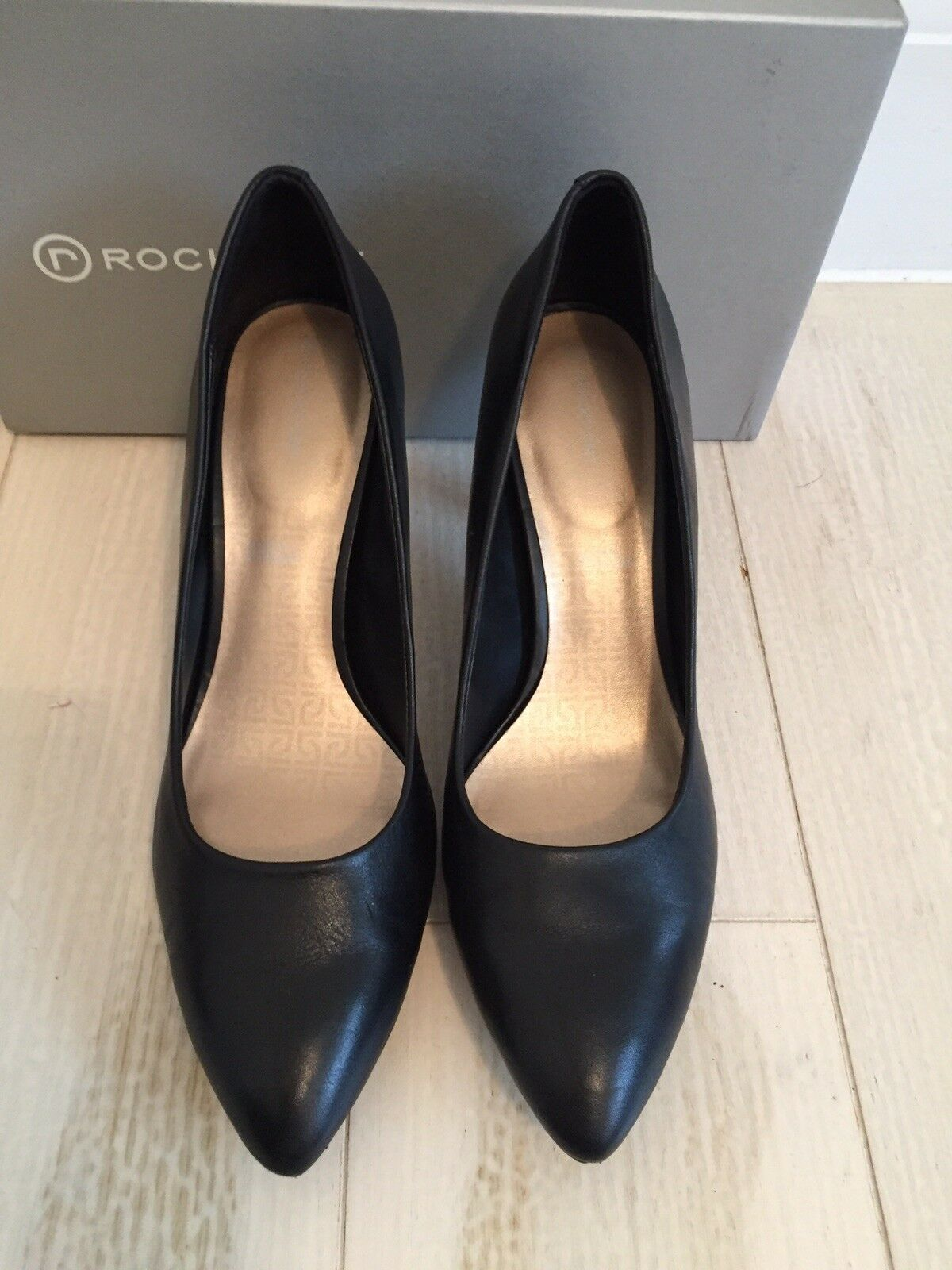 Rock Sport Noir Royaume-Uni 7, Euro 41, Large, Femme Femme Femme Confortable Chaussures fb8af2