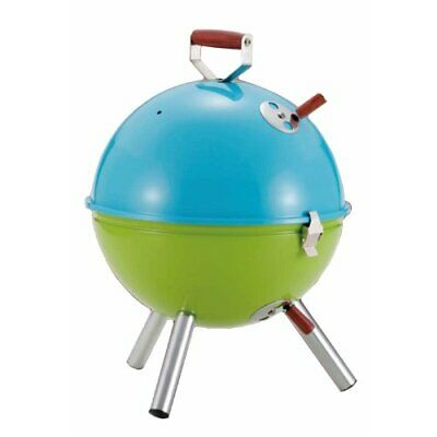 Captain Stag M-6374 Multi BBQ Stove Blue x Green Camping Outdoor Gear from Japan