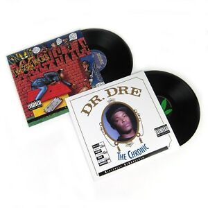 NEW-Dr-Dre-The-Chronic-Snoop-Doggy-Dogg-Doggystyle-LP-Vinyl-Record-Album-Lot
