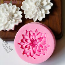 Flower DIY 3D Fondant Cake Chocolate Sugarcraft Mold Cutter Silicone Tools