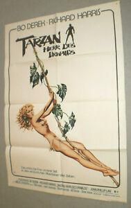 A1 Filmplakat ,TARZAN HERR DES URWALD,BO DERECK,RICHARD HARRIS