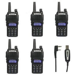 Sale-5-Baofeng-UV-82L-V-UHF-Emisora-Walkie-Talkie-3000mAh-Bibanda-Radio-Kabel