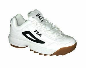 Details about Fila Men's Disruptor II Cross Training Casual Athletic Sneakers White Black