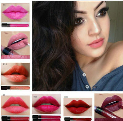 38pcs Matte Lip Gloss Long Lasting Matt Pencil Stick Makeup Lipstick Cosmetic