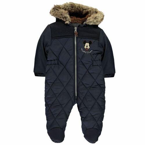 Character Pram Suit Baby Childrens Snowsuits Full Length Sleeve Hooded Zip
