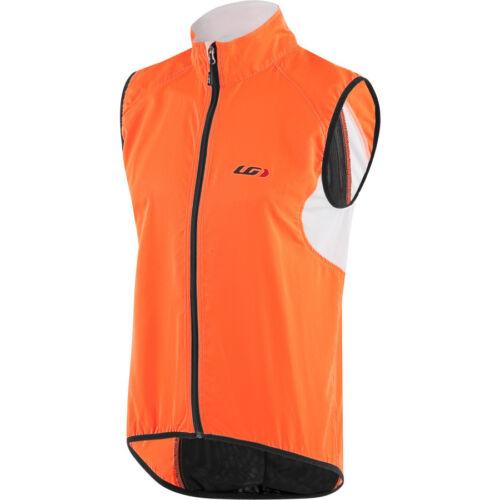 Louis Garneau Nova CYCLING Vest in Hi-Vis safety Orange
