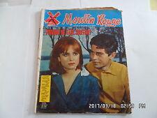 ROMAN PHOTOS MOULIN ROUGE N°83 15/09/1965 EVI FARINELLI CLAUDIO DE RENZI     I83