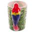 thumbnail 9 - Animal Shaped Handle Ceramic Mug Tea Coffee Cup Novelty Gift Jungle Tropical
