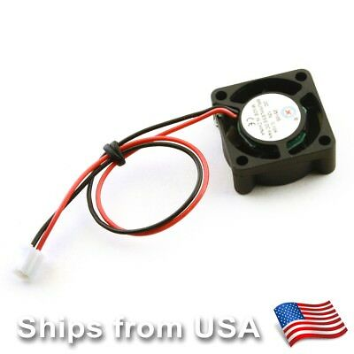 2Pcs 25mm 0.11A 5V Sleeve bearing cooling fan 2510 25 x 25 x 10 mm for CPU GPU