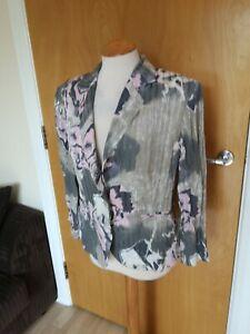 Ladies-WISH-Jacket-Size-12-14-Pink-Grey-Mother-Of-Bride-Party-Wedding-Races