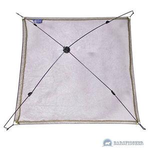 100x100cm Cormoran Schirmsenke mit Baumwollnetz 61-09200 Köderfischsenke