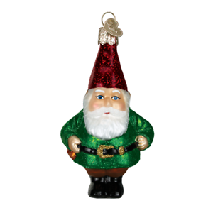 Old-World-Christmas-GNOME-24133-N-Glass-Ornament-w-OWC-Box
