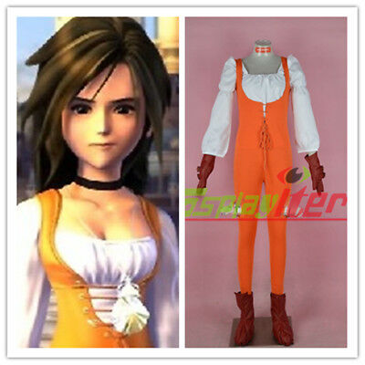 Final Fantasy IX Garnet Til Alexandros 17th Suit Cosplay Costume Custom Made
