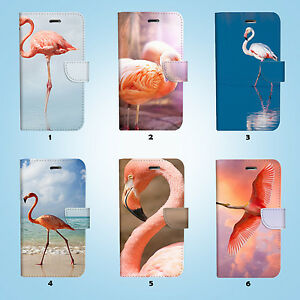 Flamingo-Flip-Wallet-Case-Cover-Samsung-Galaxy-S3-4-5-6-7-8-Edge-Note-Plus-012