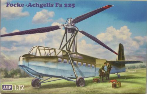 NEUHEIT Focke -Achgelis Fa 225,1:72 AMP Plastik