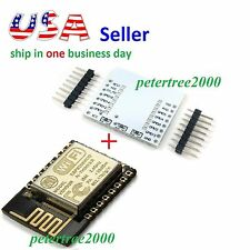 ESP8266 ESP-12E Wireless Remote Serial WiFi Module Transceiver + Adapter Plate
