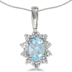 10k-White-Gold-Oval-Aquamarine-and-Diamond-Pendant-no-chain-CM-P5055W-03