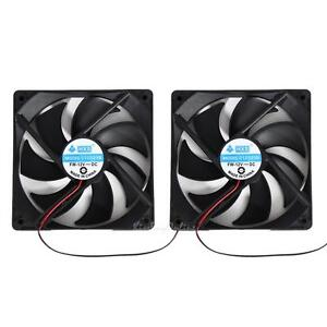 2pcs-120mm-120x25mm-12V-4-Pin-DC-Brushless-PC-Computer-Case-Cooling-Cooler-Fan