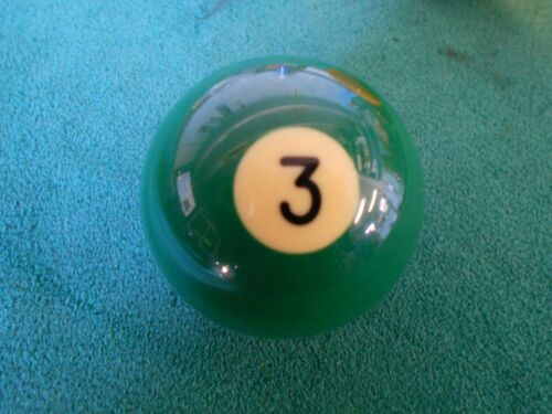 "2 1//4/"" Aramith #3 Snooker Green Ball Individual Replacement Billiard Pool Ball"