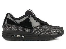 Nike Womens Air Max 1 VT QS Patent Black Sail 615868 001