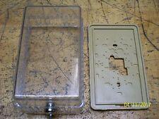 BEKO CLEAR THERMOSTAT GUARD LOCK BOX ANTI TAMPER with KEY