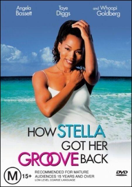 HOW STELLA GOT HER GROOVE BACK (Angela BASSETT Taye DIGGS) DVD Region 4