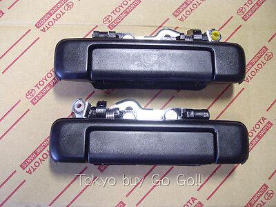 FJ Cruiser GSJ15W Chrome Outer Door Handle Set NEW Genuine OEM Optional Parts