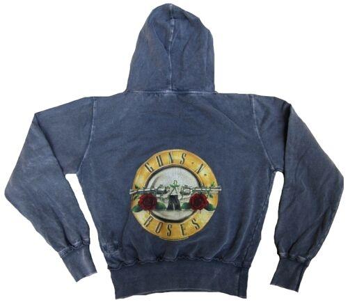 AMPLIFIED GUNS N/'ROSES Drum Logo Rock Star Vintage SWEAT SHIRT HOODIE g.L 42//44