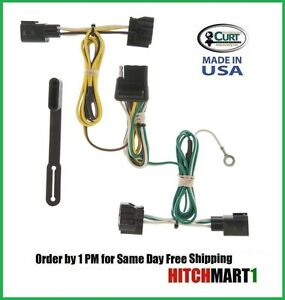 jeep wrangler trailer hitch wiring curt trailer hitch wiring for 1998-2006 jeep wrangler 4 ...
