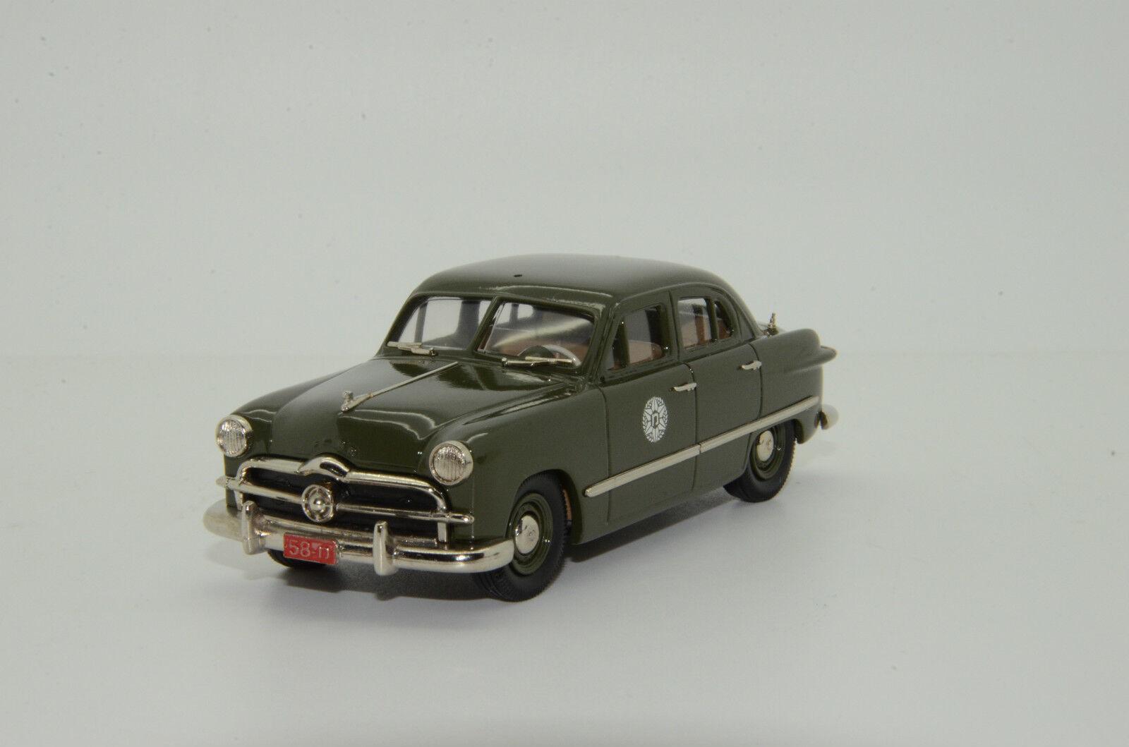 Rare     Ford Fordor 1949 Sedan Israel Police BRK. ISR 05 Brooklin  1 43
