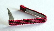 BELGIQUE: Barrette de rappel fixe ruban de boutonnière pour médailles civiques.