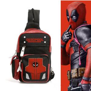 Marvel-Deadpool-Cosplay-Shoulder-Bag-Backpack-Crossbody-Chest-Casual-Travel-Bag