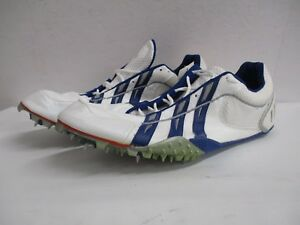 New-Adidas-TS-Blue-White-Men-039-s-Cleats-Shoes-Athletic-Size-13-5-NIB