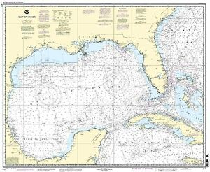 NOAA Chart Gulf of Mexico 54th Edition 411