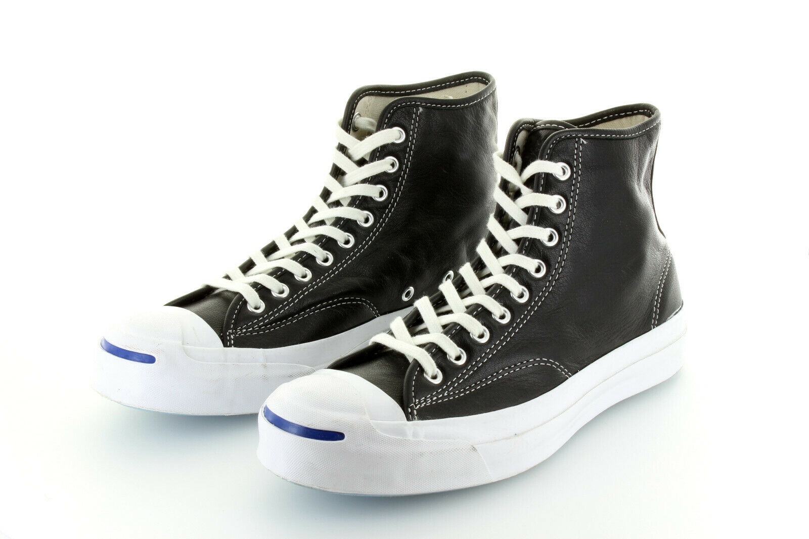 Converse Jack Purcell Hi Black Leather Limited  42,5   43 US9