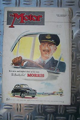 Berichte & Zeitschriften Gewissenhaft The Motor June 4 1952 Morris Minor Aston Martin Db Iii Goodwood Monte Carlo KöStlich Im Geschmack Automobilia