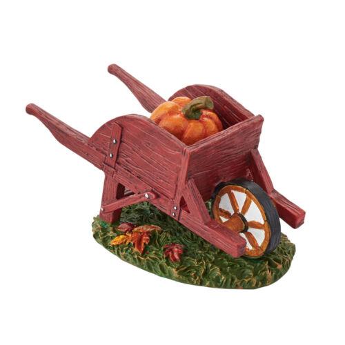 Dept 56 Harvest Fields Wheelbarrow 2015 D56 4047615 Accessory NEW Barnyard