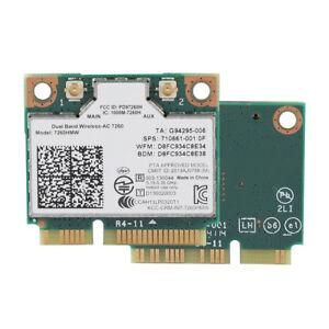 Intel-7260AC-WiFi-Bluetooth-4-0-Wlan-Karte-Fuer-Dell-Toshiba-Sony-Samsung-Asus