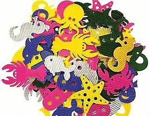 100 Corrugated Card Shapes for Crafts - Sea Life   Under the Sea Crafts