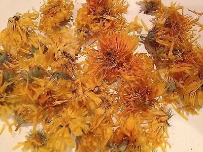 Organic Marigold Calendula Officinalis Loose Whole Herb 25g