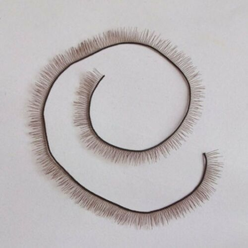 Reborn Baby Brown Eyelash Baby Doll Parts Length 6mm Wide For Doll Bjs Sd A 20cm